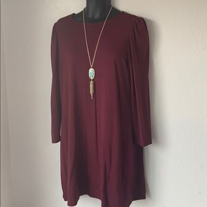 Old Navy | Burgundy Dress